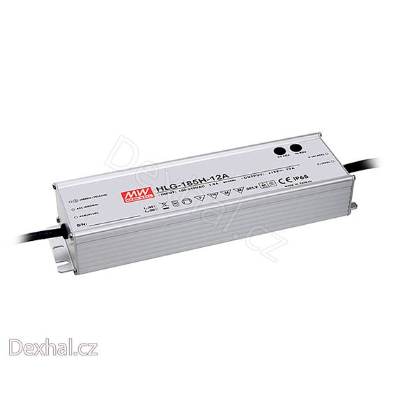 LED driver Mean Well HLG-185H-C1050A