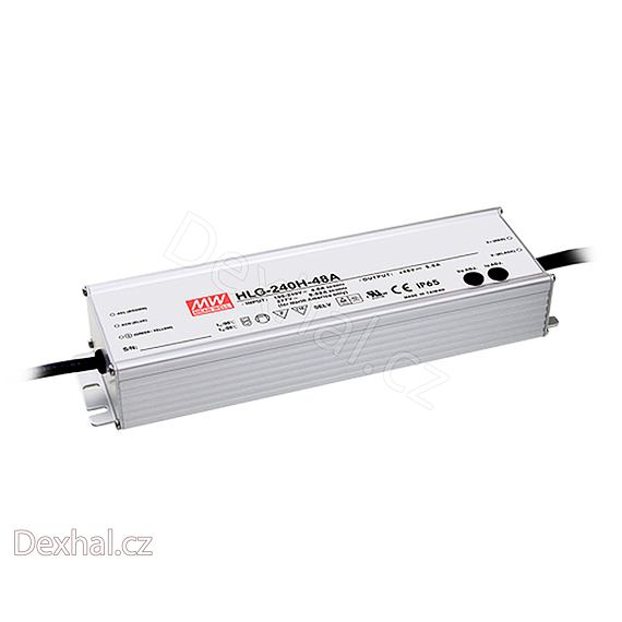 LED driver Mean Well HLG-240H-24B