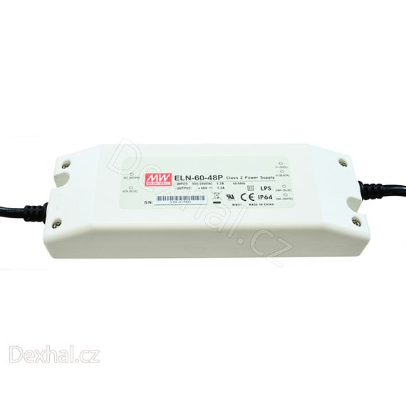 LED driver/zdroj Mean Well ELN-60-27P