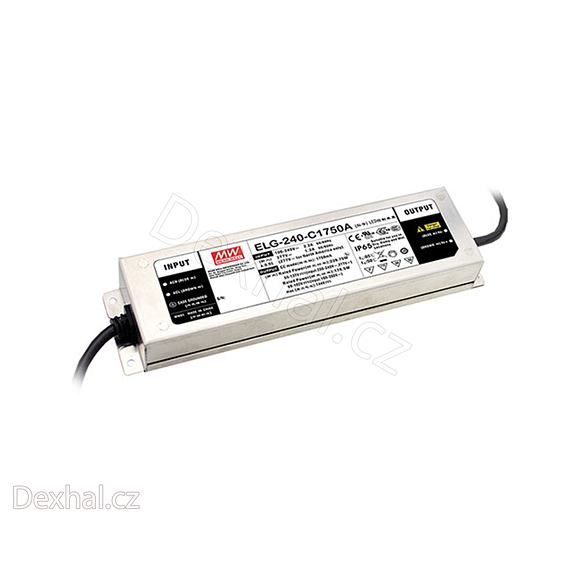 LED driver Mean Well ELG-240-C1750A