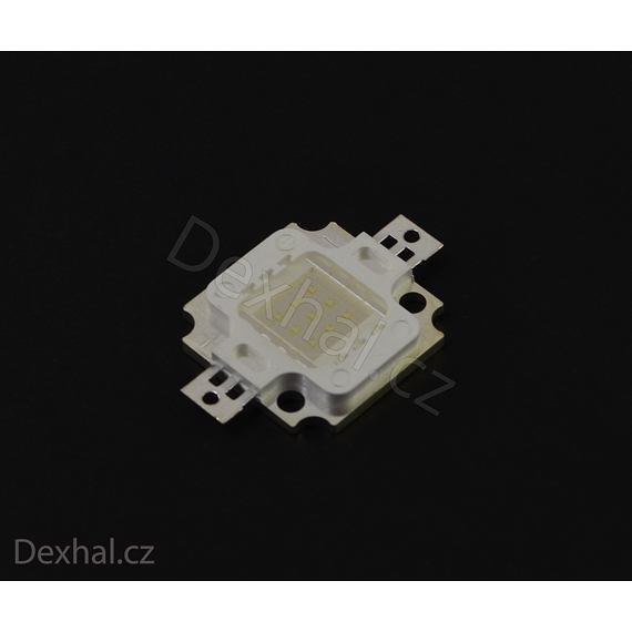 10W LED dioda Modrá (460-465NM) 300-400lm 900mA