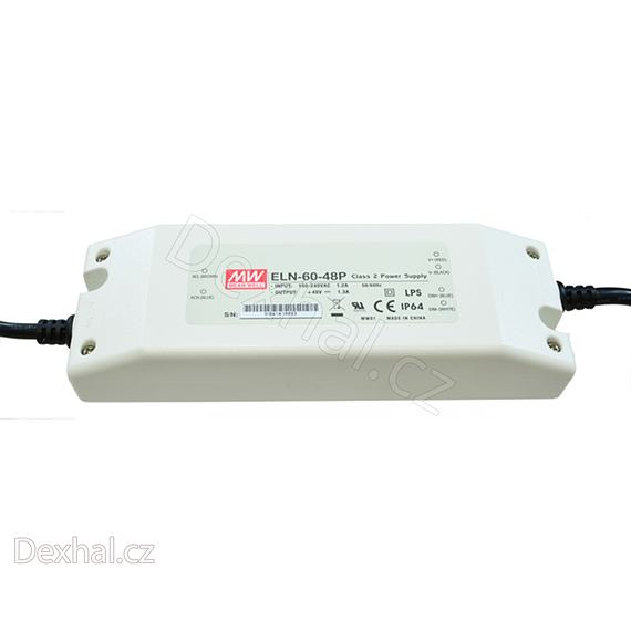 LED driver/zdroj Mean Well ELN-60-48P